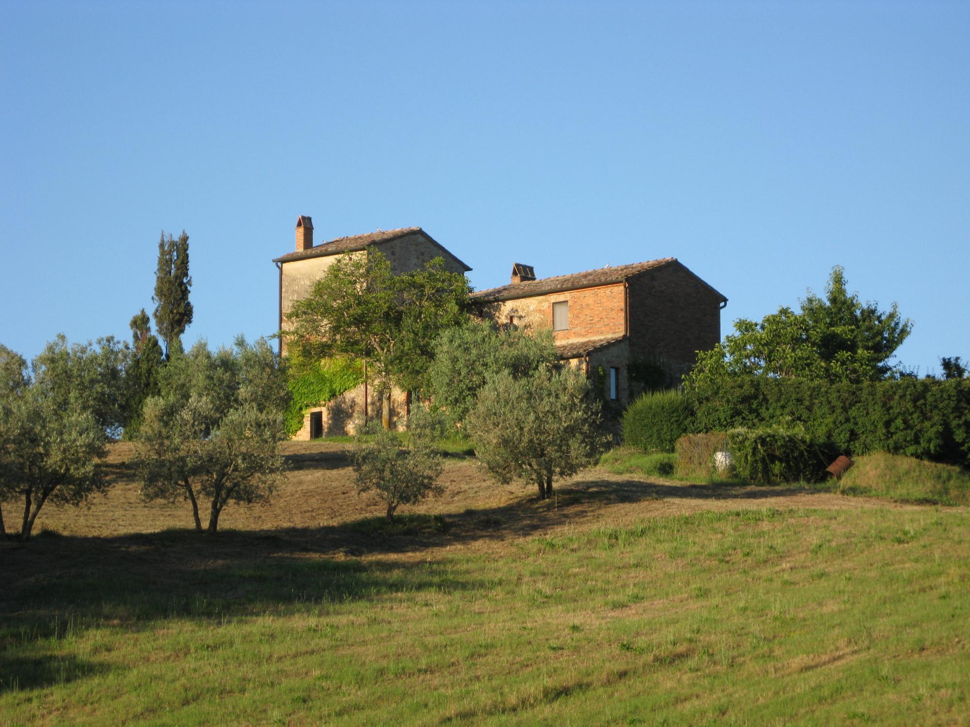 Landhus ved Pienza i Toskana